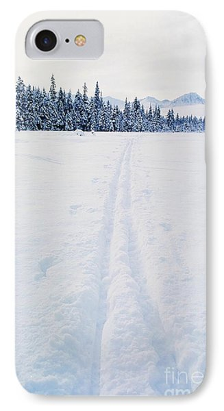 Across The Winter Landscape Phone Case by Ronnie Glover