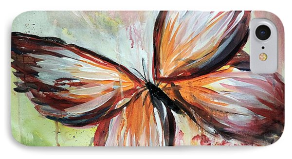 Acrylic Butterfly IPhone Case by Tom Riggs