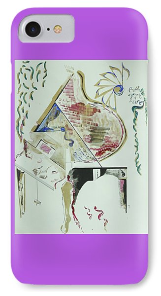 Acrylic Living Machine IPhone Case by Contemporary Michael Angelo