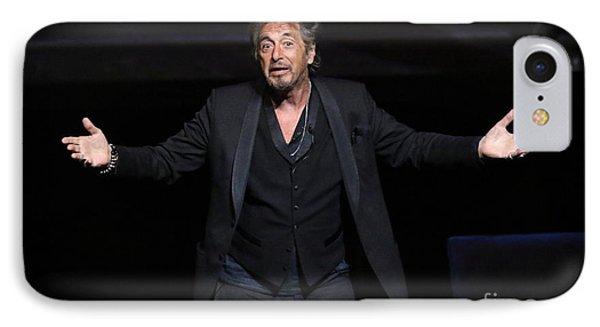 Actor Al Pacino IPhone Case by Concert Photos