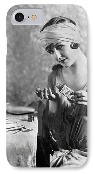 Actress Laura La Plante IPhone Case by Underwood Archives