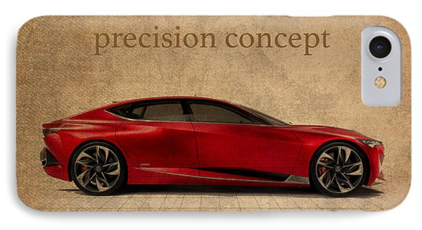 Acura Precision Concept Art IPhone Case by Design Turnpike