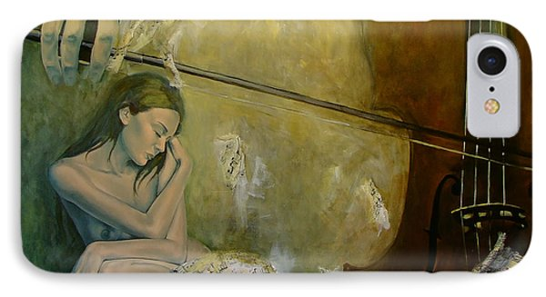 Adagio  Sentimental Confusion Phone Case by Dorina  Costras