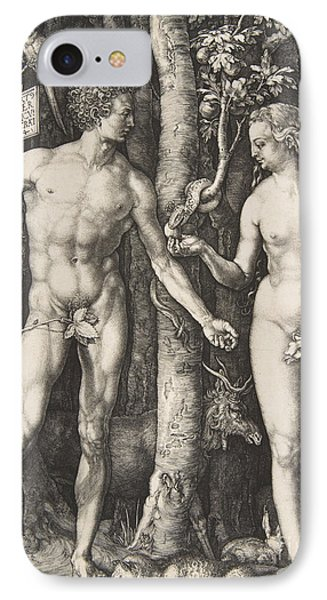 Adam And Eve, 1504  IPhone Case