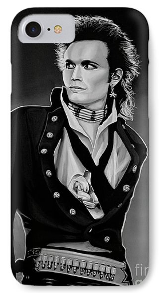 Adam Ant Painting IPhone Case
