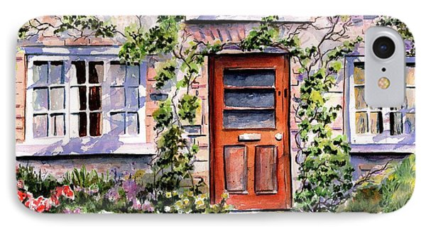 IPhone Case featuring the painting Adare Ireland Cottage by Marti Green
