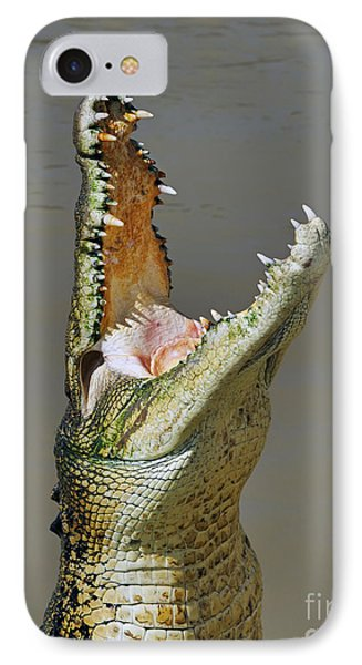 Adelaide River Crocodile IPhone Case