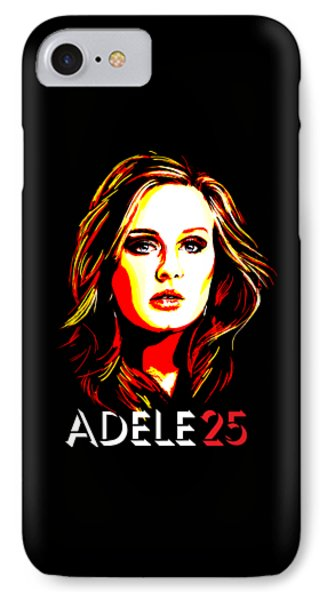 Adele 25-1 IPhone Case by Tim Gilliland