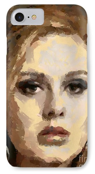 Adele IPhone Case by Dragica Micki Fortuna