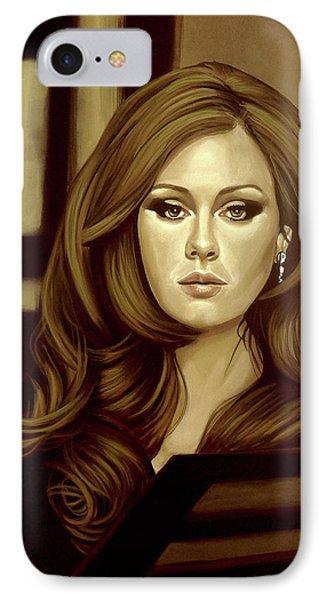 Adele Gold IPhone Case by Paul Meijering