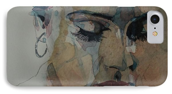 Adele - Make You Feel My Love  IPhone Case by Paul Lovering