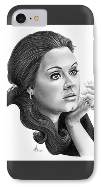 Adele IPhone 7 Case by Murphy Elliott