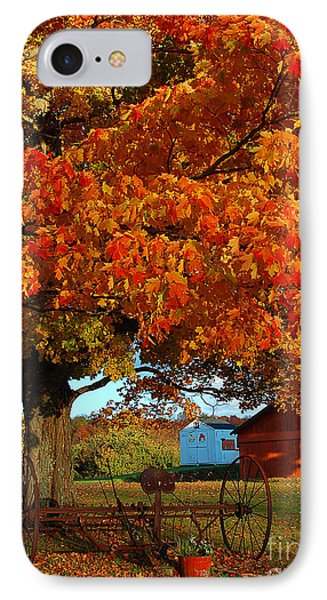 IPhone Case featuring the photograph Adirondack Autumn Color by Diane E Berry