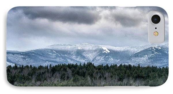 Adirondack High Peaks During Winter - New York IPhone Case by Brendan Reals
