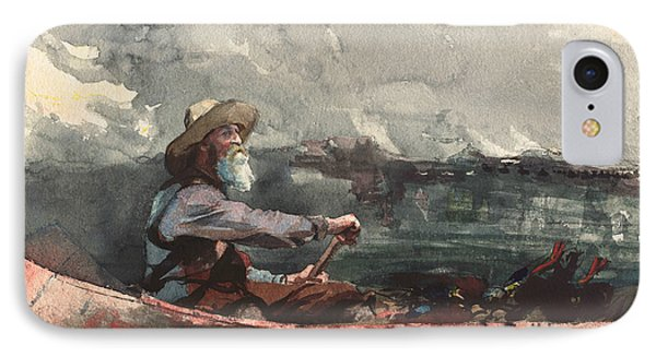 Adirondacks Guide IPhone Case by Winslow Homer