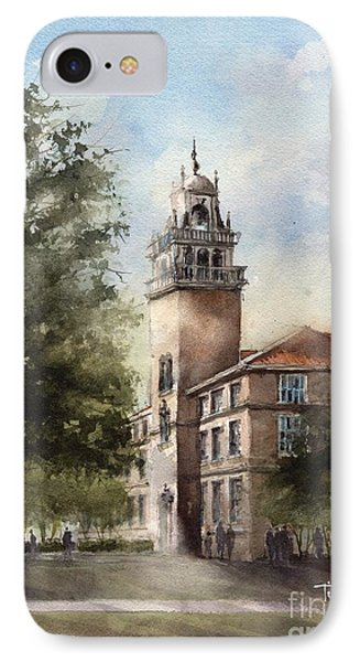 Administration Building At Texas Tech University IPhone Case by Tim Oliver