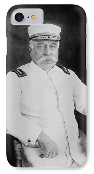 Admiral George Dewey Phone Case by War Is Hell Store