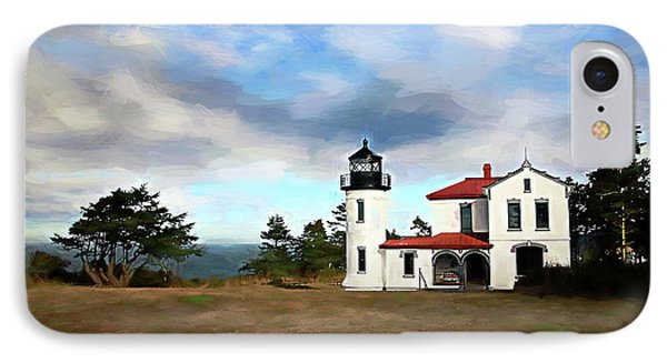 Admiralty Head Lighthouse II IPhone Case