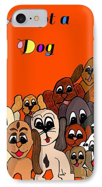 Adopt A Dog  IPhone Case