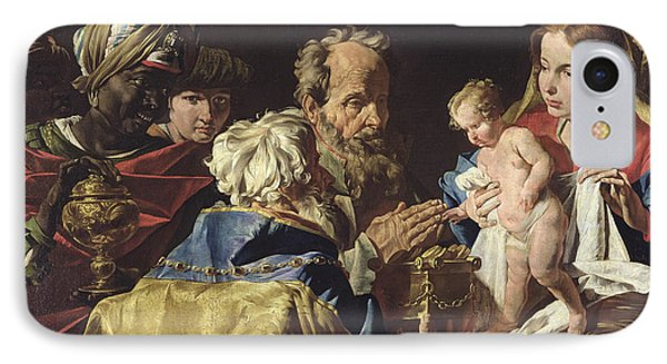 Adoration Of The Magi  Phone Case by Matthias Stomer