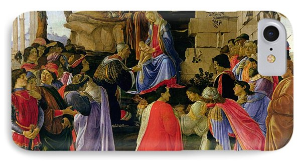 Adoration Of The Magi Phone Case by Sandro Botticelli