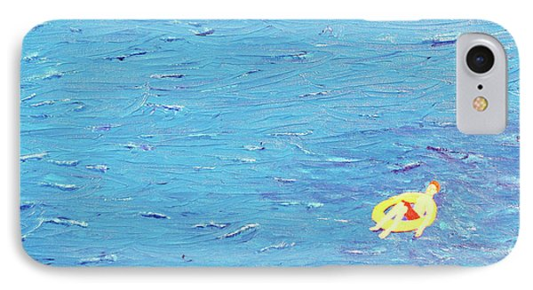 IPhone Case featuring the painting Adrift by Thomas Blood