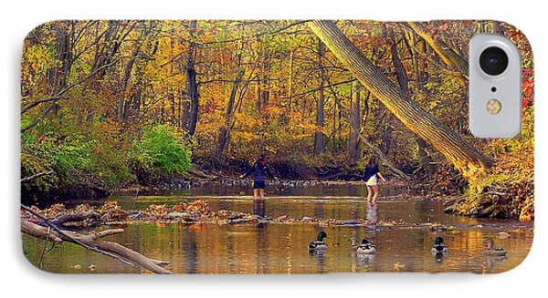 Adventure And Discovery IPhone Case by Frozen in Time Fine Art Photography