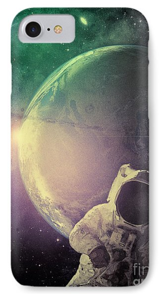 Adventure In Space Phone Case by Phil Perkins