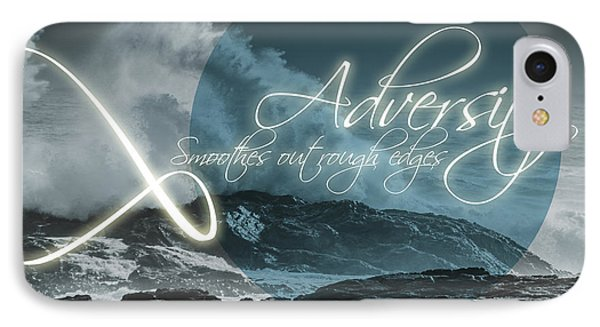 Adversity Smoothes Out Rough Edges IPhone Case by Jorgo Photography - Wall Art Gallery