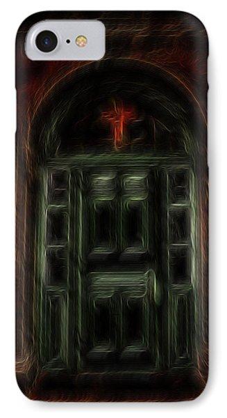Adytum Phone Case by William Horden