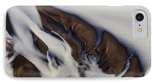 Aerial Photo Thjosa Iceland IPhone Case