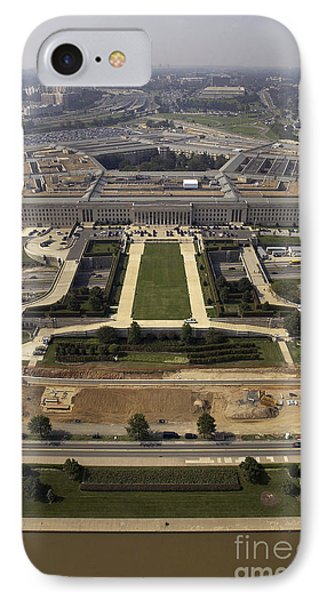 Aerial Photograph Of The Pentagon Phone Case by Stocktrek Images