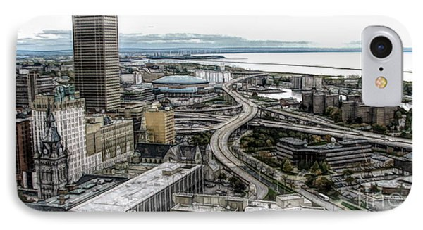 Aerial View Of Buffalo New York 2 Fwc Effect IPhone Case