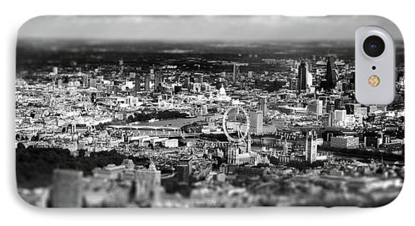 Aerial View Of London 6 IPhone 7 Case by Mark Rogan