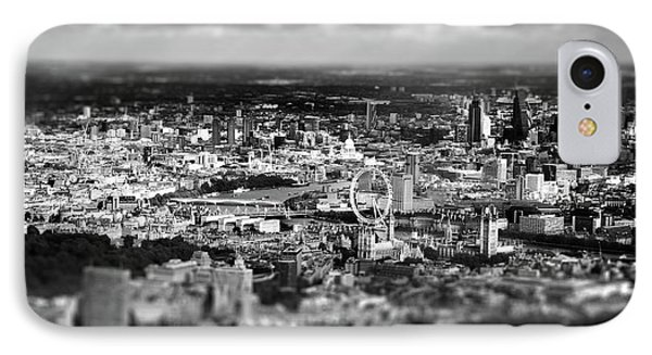 Aerial View Of London 6 IPhone Case by Mark Rogan