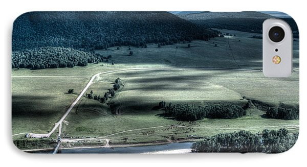 Aerial View Of Rolling Russian Hills IPhone Case by John Williams
