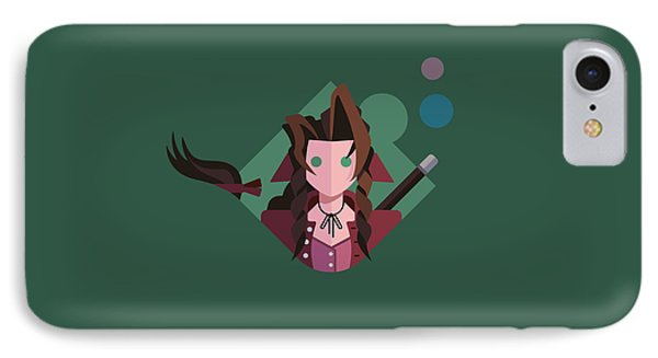 IPhone Case featuring the digital art Aeris by Michael Myers