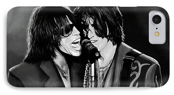 Aerosmith Toxic Twins Mixed Media IPhone 7 Case by Paul Meijering