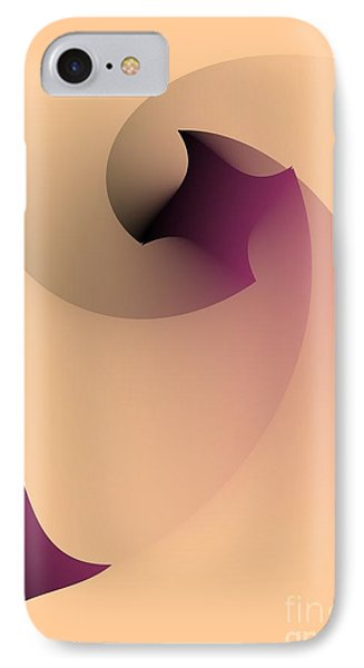 IPhone Case featuring the digital art Affect by Leo Symon