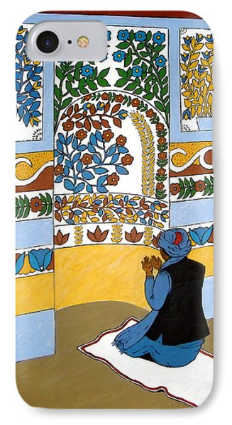 IPhone Case featuring the painting Afghan Mosque by Stephanie Moore