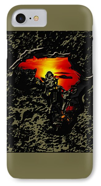 Africa 03b IPhone Case by Brian Reaves