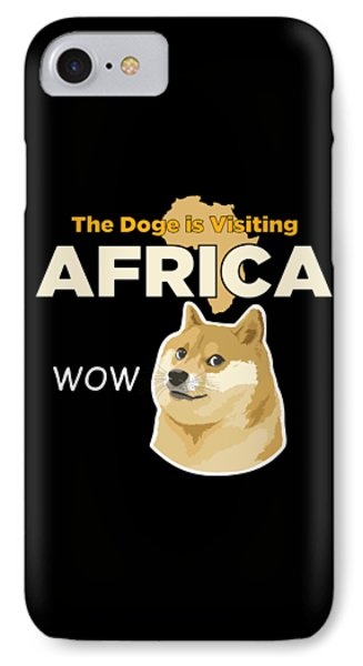 Africa Doge IPhone 7 Case by Michael Jordan