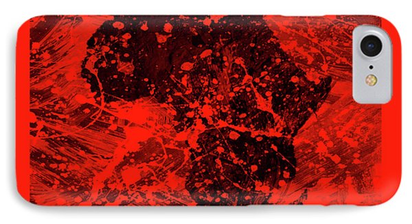African Splatter IPhone Case by Brian Reaves