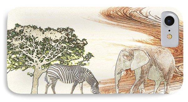 Africa Phone Case by Sharon Lisa Clarke