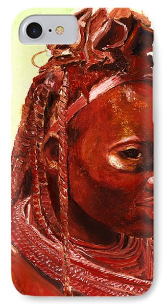 African Beauty IPhone Case by Enzie Shahmiri