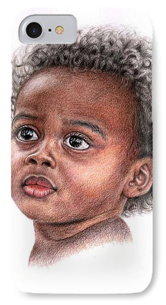 African Child Phone Case by Nicole Zeug