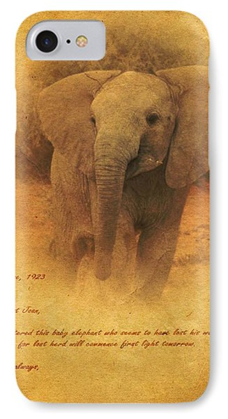 African Elephant IPhone Case by John Wills