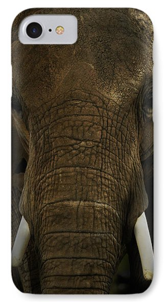 IPhone Case featuring the photograph African Elephant by Michael Cummings