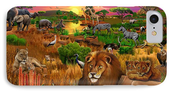 African Evening IPhone Case