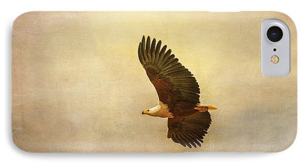 African Fish Eagle IPhone Case by Kathy Adams Clark
